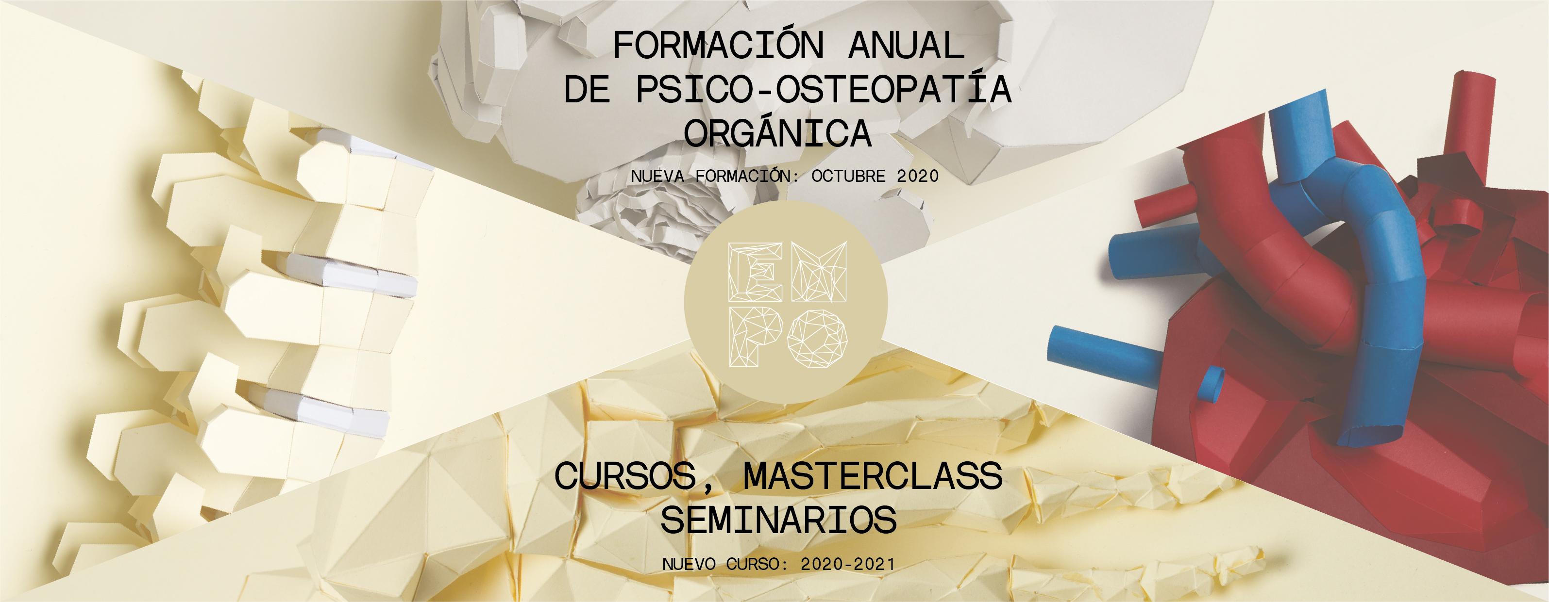 NUEVO CURSO 20-21: FORMACIÓN DE PSICO-OSTEOPATÍA ORGÁNICA